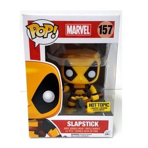 Funko pop Marvel Deadpool Slapstick Figure HT Excl